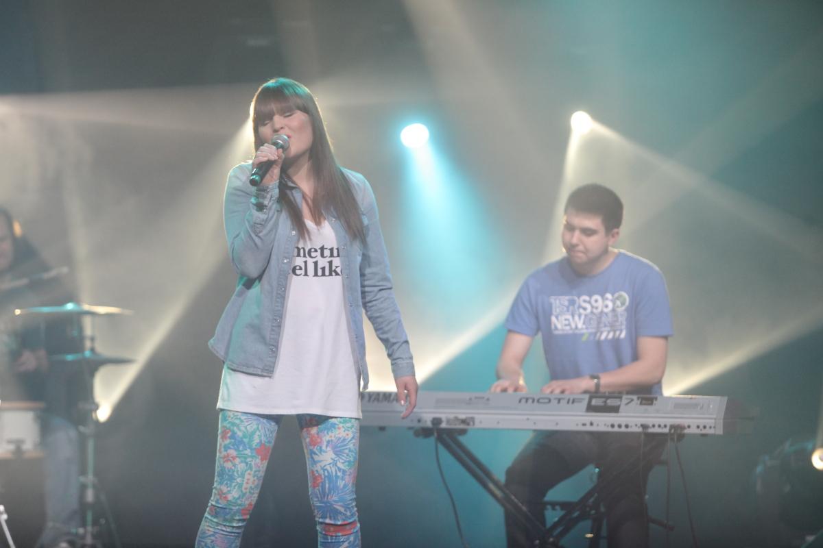 Olga Matuszewska z zespołem